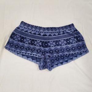 Forever 21 Fleece Pajama Shorts